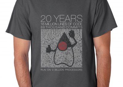 20 Years of Java T-Shirt
