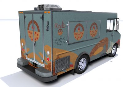Augmented Reality Food Truck