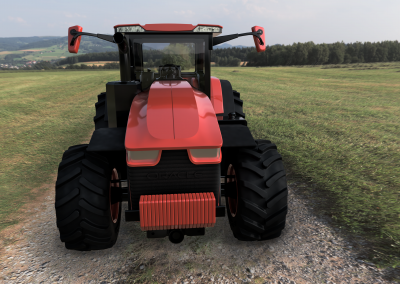 Augmented Reality Tractor Service